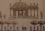 Desserts e Arte Efémera Decorações de mesa em finais do século XVIII.