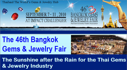 """The Sunshine after the Rain for Thai Gems & Jewelry Industry"""