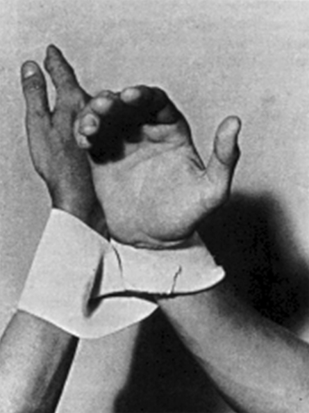 Lygia Clark,  Dialogo de Mãos, 1966