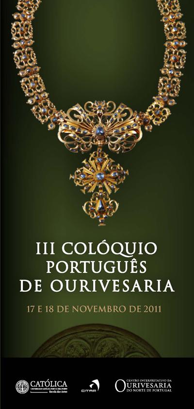 III Colóquio Português de Ourivesaria