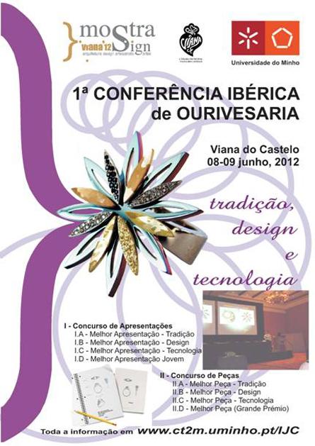 1ª Conferência Ibérica de Ourivesaria