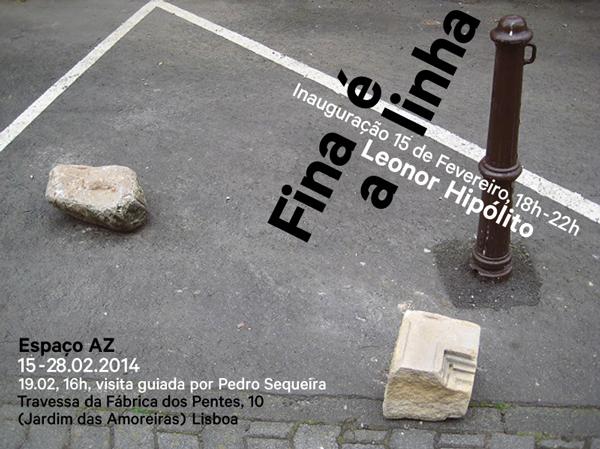 Fina é a linha Exposição de Joalharia Contemporânea de Leonor Hipólito Visita guiada por Pedro Sequeira dia 19 Fev às 16h Espaço AZ, Lisboa de 15 Fev a 28 Fev 2014